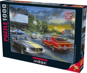 Los mejores puzzles de Ferrari - Puzzle de coches clásico de 1000 piezas de Anatolian
