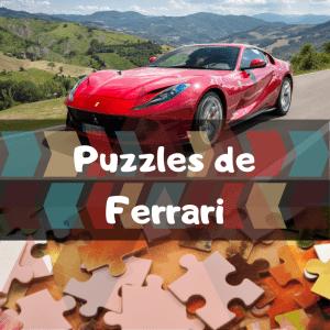 Los mejores puzzles de Ferrari - Puzzles de Ferrari - Puzzle de Ferrari