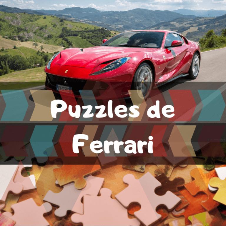 Los mejores puzzles de Ferrari