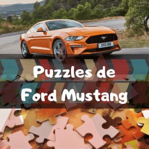 Los mejores puzzles de Ford Mustang - Puzzles de Ford Mustang - Puzzle de Ford Mustang