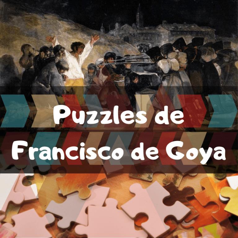 Los mejores puzzles de Francisco de Goya