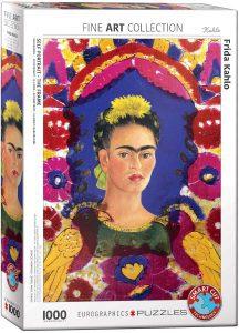 Los mejores puzzles de Frida Kahlo - Puzzle de Frida Kahlo Autoretrato de 1000 piezas de Eurographics