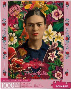 Los mejores puzzles de Frida Kahlo - Puzzle de Frida Kahlo de 1000 piezas de Aquarius