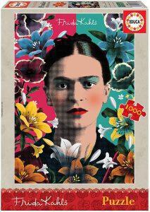 Los mejores puzzles de Frida Kahlo - Puzzle de Frida Kahlo de 1000 piezas de Educa