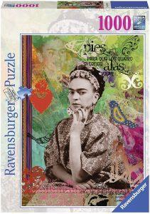 Los mejores puzzles de Frida Kahlo - Puzzle de Frida Kahlo de 1000 piezas de Ravensburger