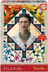 Los mejores puzzles de Frida Kahlo - Puzzle de Frida Kahlo de 500 piezas de Educa