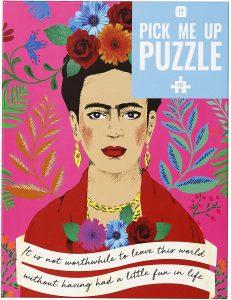 Los mejores puzzles de Frida Kahlo - Puzzle de Frida Kahlo de 500 piezas de Talking Tables
