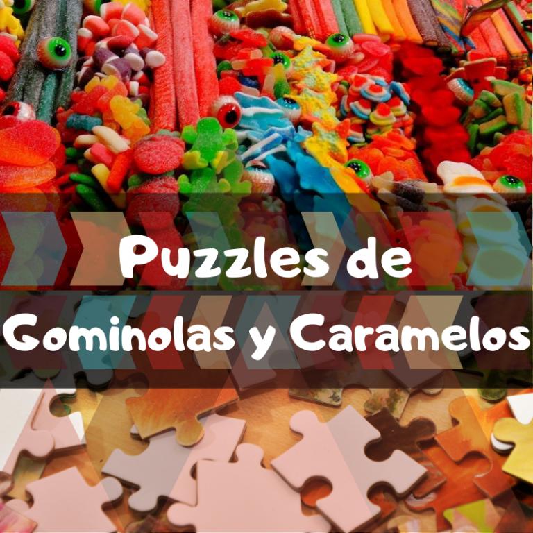 Los mejores puzzles de Gominolas y Caramelos