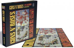 Los mejores puzzles de Guns and Roses - Puzzle de Guns and Roses de Appetite For Destruction de 500 piezas