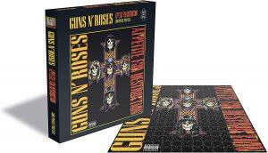 Los mejores puzzles de Guns and Roses - Puzzle de Guns and Roses de Appetite for destruction 2 de 500 piezas