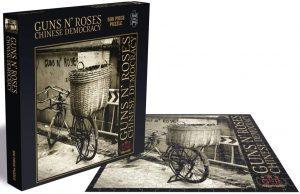 Los mejores puzzles de Guns and Roses - Puzzle de Guns and Roses de Chinese Democracy de 500 piezas