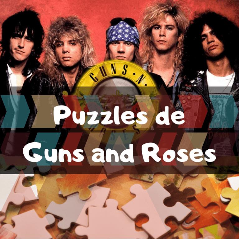 Lee más sobre el artículo Los mejores puzzles de Guns and Roses