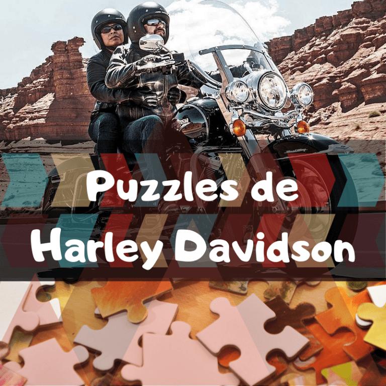 Los mejores puzzles de Harley Davidson