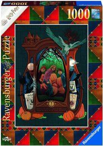 Los mejores puzzles de Harry Potter - Puzzle de Armario de Harry Potter de 1000 piezas de Ravensburger - Personajes del Universo de Harry Potter
