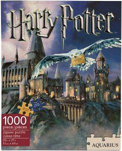 Los mejores puzzles de Harry Potter - Puzzle de Castillo de Hogwarts de 1000 piezas de Aquarius - Personajes del Universo de Harry Potter