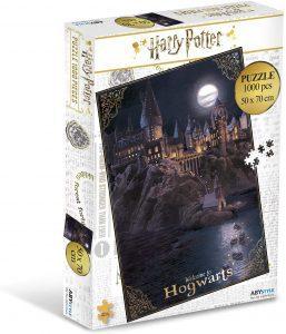 Los mejores puzzles de Harry Potter - Puzzle de Castillo de Hogwarts de 1000 piezas de The Noble Collection - Personajes del Universo de Harry Potter