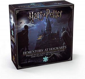 Los mejores puzzles de Harry Potter - Puzzle de Dementor de Hogwarts de 1000 piezas de The Noble Collection - Personajes del Universo de Harry Potter