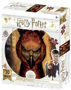 Los mejores puzzles de Harry Potter - Puzzle de Fawkes de 300 piezas de Wizarding World - Personajes del Universo de Harry Potter