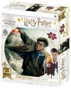 Los mejores puzzles de Harry Potter - Puzzle de Harry Potter de 300 piezas de Wizarding World - Personajes del Universo de Harry Potter