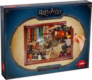 Los mejores puzzles de Harry Potter - Puzzle de Harry Potter de Winning Moves de 1000 piezas - Personajes del Universo de Harry Potter