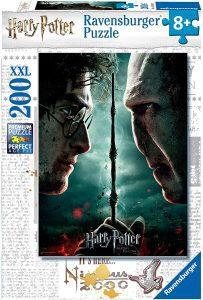 Los mejores puzzles de Harry Potter - Puzzle de Harry Potter vs Voldemort de 200 piezas de Ravensburger - Personajes del Universo de Harry Potter