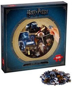 Los mejores puzzles de Harry Potter - Puzzle de Harry Potter y la Piedra Filosofal de 500 piezas de Wizarding World 2 - Personajes del Universo de Harry Potter