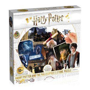 Los mejores puzzles de Harry Potter - Puzzle de Harry Potter y la Piedra Filosofal de 500 piezas de Wizarding World - Personajes del Universo de Harry Potter