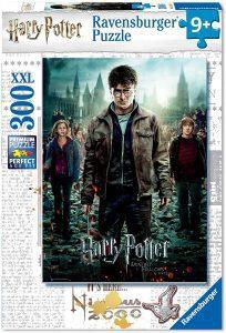 Los mejores puzzles de Harry Potter - Puzzle de Harry Potter y las Reliquias de la Muerte Parte 2 de 300 piezas de Ravensburger - Personajes del Universo de Harry Potter