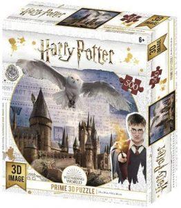 Los mejores puzzles de Harry Potter - Puzzle de Hedwig de 500 piezas de Wizarding World - Personajes del Universo de Harry Potter
