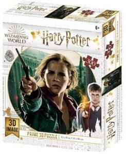 Los mejores puzzles de Harry Potter - Puzzle de Hermione de 300 piezas de Wizarding World - Personajes del Universo de Harry Potter