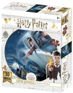 Los mejores puzzles de Harry Potter - Puzzle de coche de 300 piezas de Wizarding World - Personajes del Universo de Harry Potter