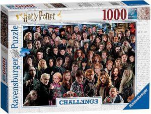 Los mejores puzzles de Harry Potter - Puzzle de personajes de Harry Potter Challenge de 1000 piezas de Ravensburger - Personajes del Universo de Harry Potter