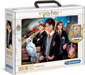 Los mejores puzzles de Harry Potter - Puzzle de personajes de Harry Potter clásico de 1000 piezas de Clementoni - Personajes del Universo de Harry Potter