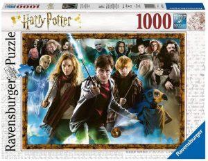 Los mejores puzzles de Harry Potter - Puzzle de personajes de Harry Potter de 1000 piezas de Ravensburger - Personajes del Universo de Harry Potter