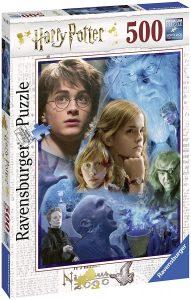 Los mejores puzzles de Harry Potter - Puzzle de personajes de Harry Potter de 500 piezas de Ravensburger - Personajes del Universo de Harry Potter