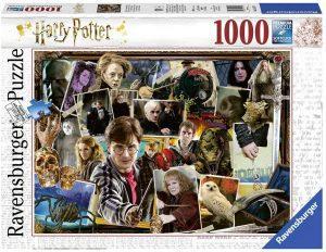 Los mejores puzzles de Harry Potter - Puzzle de personajes de Harry Potter imágenes de 1000 piezas de Ravensburger - Personajes del Universo de Harry Potter