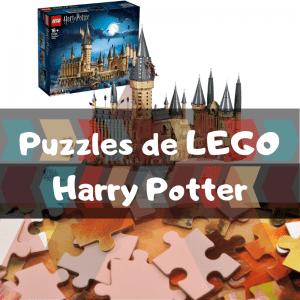 Los mejores puzzles de Harry Potter de LEGO - Construcciones de LEGO de Harry Potter en 3D - Puzzles de LEGO de Harry Potter