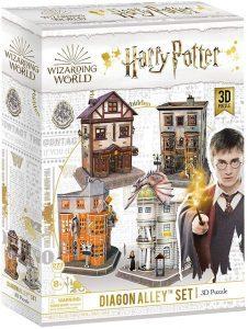 Los mejores puzzles de Harry Potter en 3D - Puzzle de Callejón Diagón de Harry Potter en 3D - Puzzles en 3D