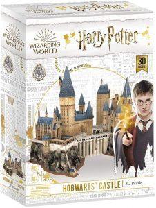 Los mejores puzzles de Harry Potter en 3D - Puzzle de Castillo de Hogwarts de Harry Potter en 3D - Puzzles en 3D