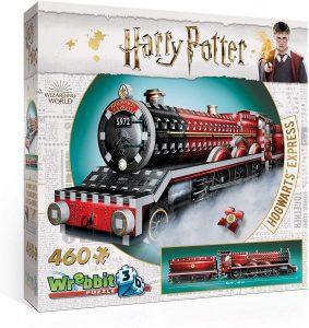 Los mejores puzzles de Harry Potter en 3D - Puzzle de El Expresso de Hogwarts de 460 piezas en 3D de Wrebbit - Puzzles en 3D