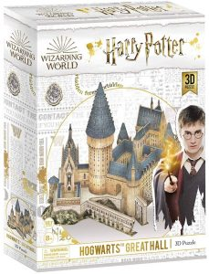 Los mejores puzzles de Harry Potter en 3D - Puzzle de Gran salón de Hogwarts de Harry Potter en 3D - Puzzles en 3D