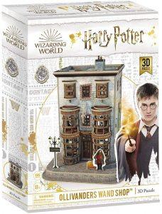 Los mejores puzzles de Harry Potter en 3D - Puzzle de Tienda de Varitas de Ollivanders de Harry Potter en 3D - Puzzles en 3D