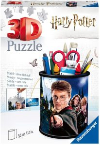 Los mejores puzzles de Harry Potter en 3D - Puzzle de estuche en 3D de Harry Potter de Ravensburger - Puzzles en 3D