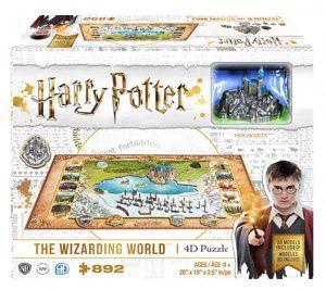 Los mejores puzzles de Harry Potter en 3D - Puzzle de mapa de Harry Potter en 4D