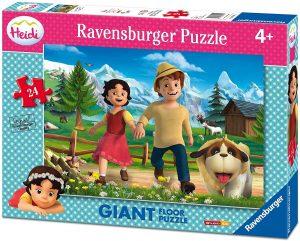 Los mejores puzzles de Heidi - Puzzle de Heidi gigante de suelo de 24 piezas de Ravensburger