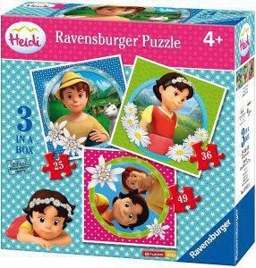 Los mejores puzzles de Heidi - Puzzle de Heidi progresivo de Ravensburger