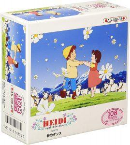 Los mejores puzzles de Heidi - Puzzle de Heidi y Pedro de 108 piezas de Kezuka