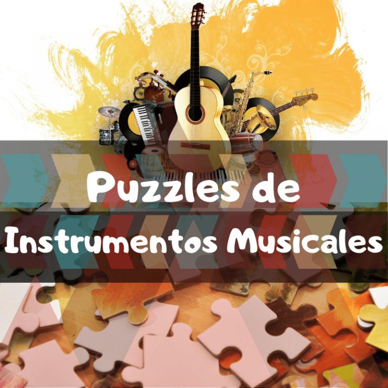 Los mejores puzzles de instrumentos musicales