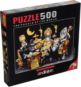 Los mejores puzzles de Jazz - Puzzle de Banda de Jazz de 500 piezas de Anatolian - Puzzles de Música