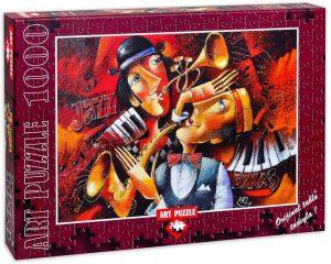 Los mejores puzzles de Jazz - Puzzle de Jazz de 1000 piezas de Heidi . Puzzles de Música